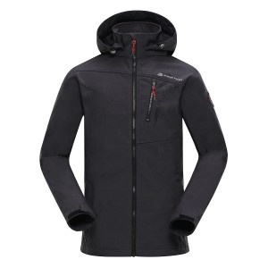 Kurtka męska softshell SETTEMBRINO 3 (Kolor Dark Grey)