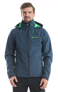 Kurtka męska softshell MONTE PELF (Kolor Midnight Navy)