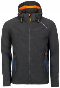 Kurtka męska softshell NOOTK 3 (Kolor Dark Grey)
