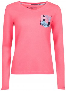 Bluza damska longsleeve DILILA 2 (Kolor Strawberry Pin)