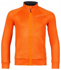 Bluza dziecięca prostretch LALLO 3 (Kolor Neon Orange)