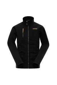 Kurtka męska softshell HORVES (Kolor Black)