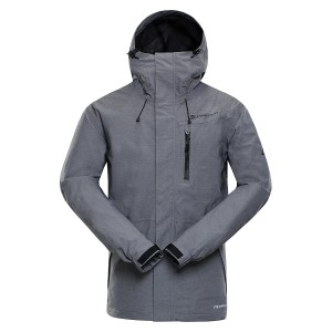 Kurtka męska outdoor JUSTIC 3 (Kolor Dark Grey)